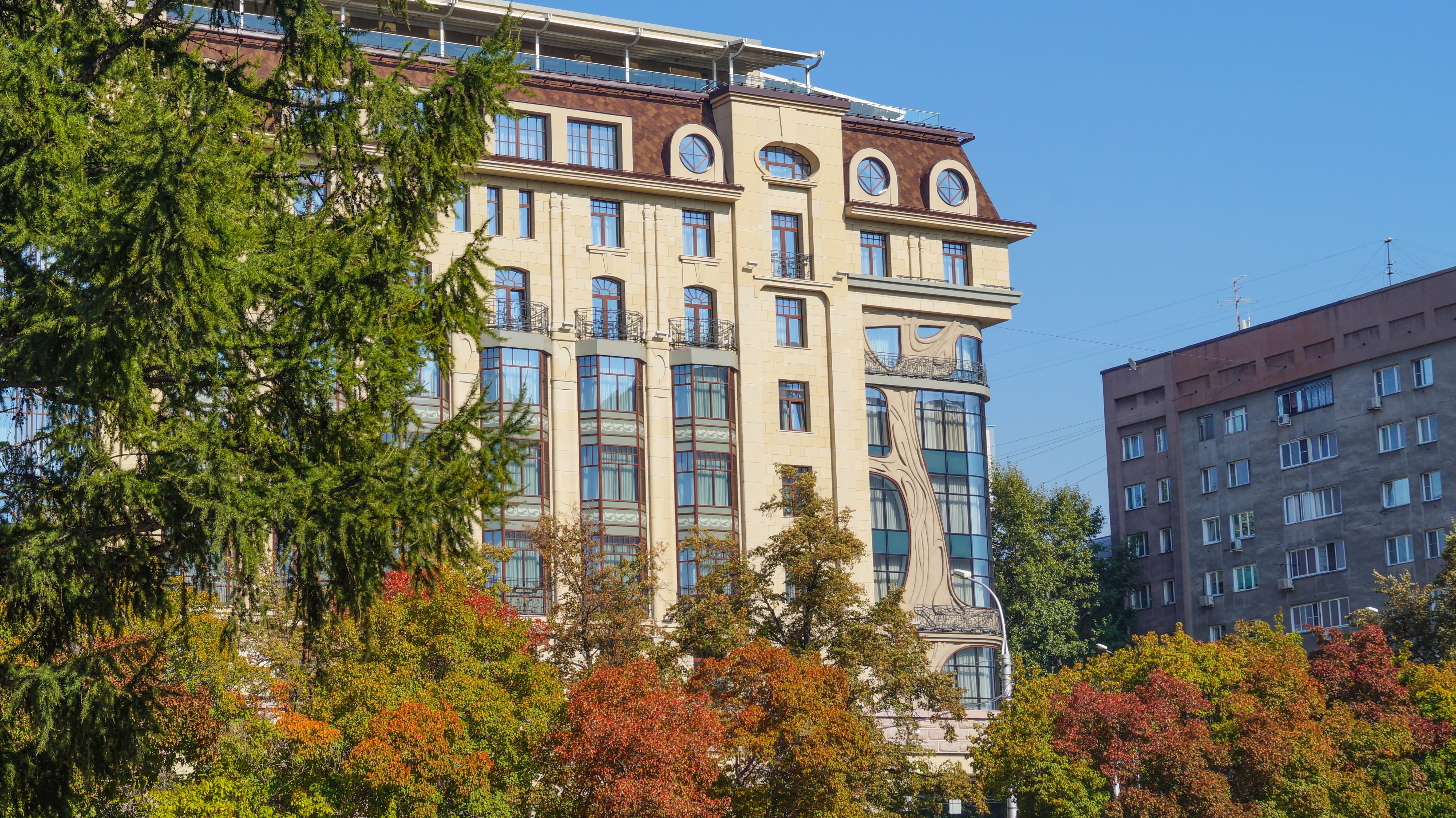 Отель Мариот. Новосибирск