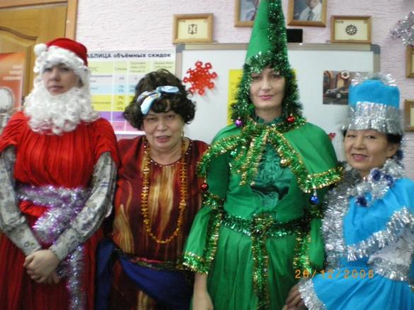 Встреча Рождества :)